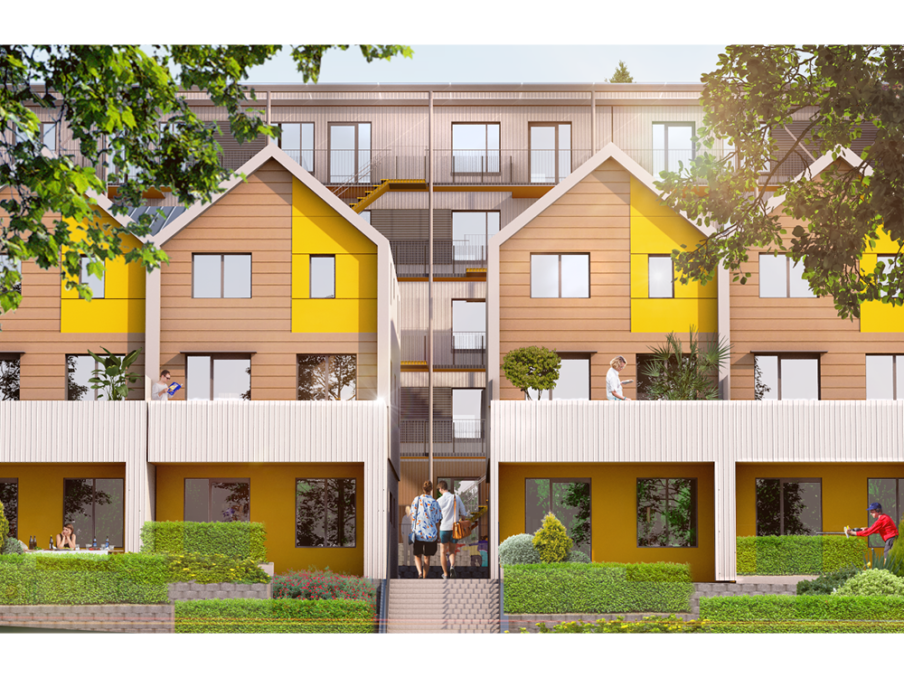 District of North Vancouver affordable housing concept for Hollyburn