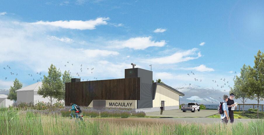 Macaulay Pump Station Render