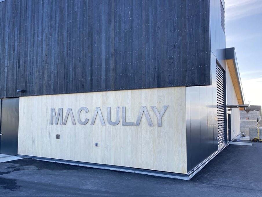 Macaulay Pump Station corner
