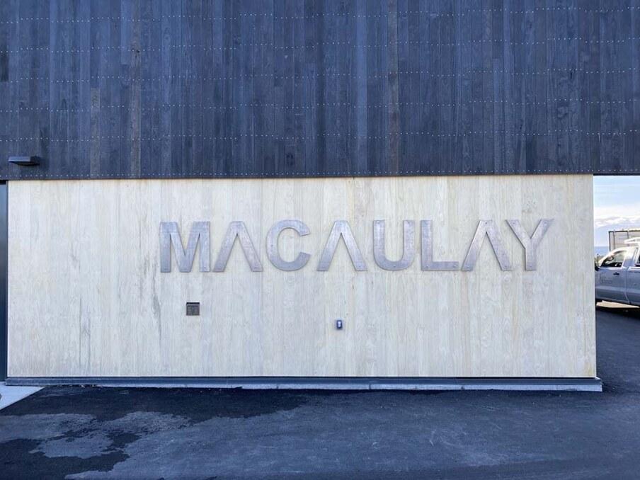 Macaulay Pump Station sign