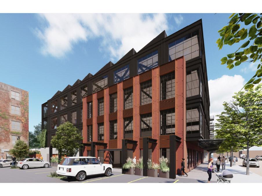 Herald Chatham Office through-block walkway